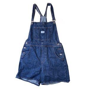 Vintage Levi's Overalls Shortalls Jeans Size M